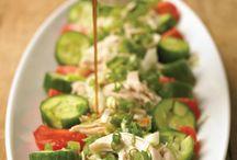 Salads / by Amanda Farris Hamblin