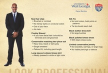 Men's Interview Attire / by UWG CAREER