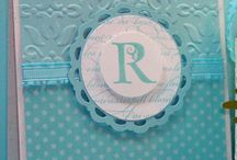 Cards Monograms / by Vania May