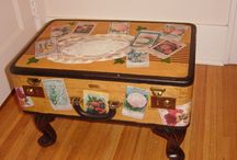 luggage deco / by Lynda Moore