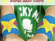 quick superhero costume / by Rob GM