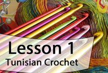 Tunisian crochet / by Shar Heims