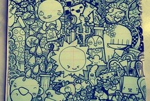 Doodle<3 / Lots of cool doodles to inspire me. / by Iben Djuraas