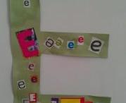Letter E, F, G, H / by Khadija