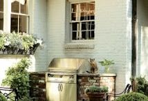 Outdoor Kitchen / by Mary Cassinelli