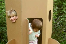 Cardboard Box Play / Give your kids a cardboard box (or a dozen) to fuel their creativity. / by KaBOOM!