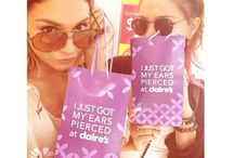 Celebs at Claire's! / Some of our favorite celebrities like Vanessa Hudgens and Rihanna stop by and shop at our stores!  / by Claire's Stores