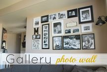 Gallery Photo Wall / by Stephanie Dow