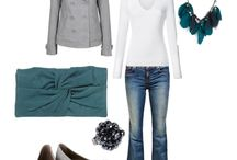 white tee style / by Amber N
