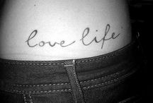 tattoos / by Alissa Sanford