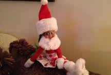 Creppy little elf. / by Amber Lenhart