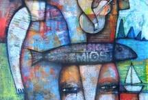 Imagination Fragments / art that has captured my imagination... / by Safiya Balekian