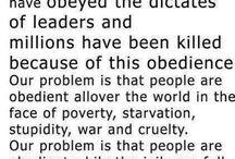 The Power of Civil Disobedience / by Elizabeth Burnett