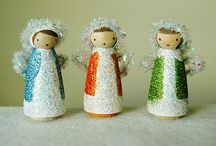 For the LOVE of Peg Dolls!! / All things peg doll and peg doll related! / by Twig and Toadstool !!