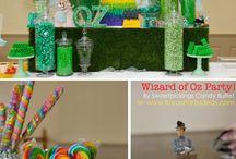 Wizard of Oz theme party / by Kelly Fujii