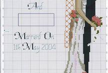 Cross-stitch, embroidery stitch / by Galina Ilina