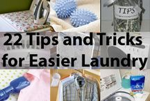 Cleaning&Laundry Tricks  / by Crystal Bohonis