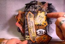 Halloween mini albums / by Alison Knight