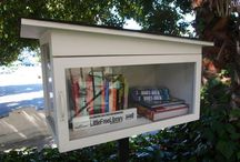 Little free library design ideas / by Veronica Van Gogh