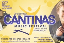 Cantinas Music Festival 2013 / We are having our 2ND Annual Cantinas Music Festival August 24th! Check out all of our pins to see who will be featured at our festival! Buy your tickets now! / by Cantinas Ranch