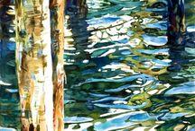 ART: Watercolor / by Greta Hansen-Money