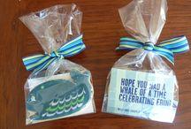 Birthday Party - Ocean-Themed / Beach  / Lulu's second birthday party. / by Souris Hong-Porretta