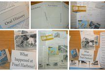 Homeschool- lapbooking / by Rebecca Kvenvolden