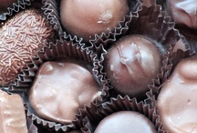 Chocolate / Food of the Gods...I love chocolate, in all forms, cup cakes, candy, cake, pudding, and pie.  / by Pine Cones and Acorns Blog
