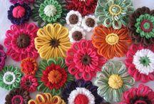 Crafting (Flower Loom) / by Vickie Tagatz