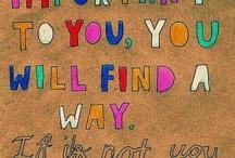 Sayings / by Jill O'Neill