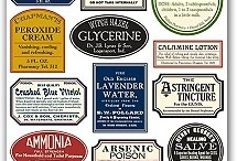Assorted Labels and Fun Stuff / by Francoise Lavergne