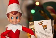 Elf on the shelf / by Joliene Tresslar