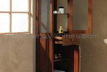 Linen Cabinets / Linen Cabinets http://www.premierevanities.com/prod/Linen-Cabinets.html / by Bathroom Vanities