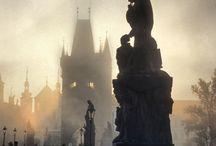 Praha / kamenné předívo / by Karl Kern