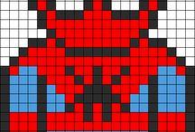 Perler Patterns / Hama beads / cross stitch / by Louise Edwards