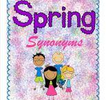 Spring Synonyms / by Buysellteach