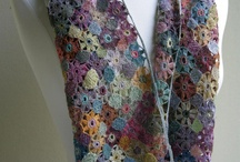 Crochet: Scarves I / Decorative Scarves (Sophie Digard, linen, etc.) / by Polly Wickstrom