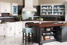 kitchen / beautiful kitchens, appliances, kitchen decorating / by Layne Quintanilla ~ Mama Q Blogs It