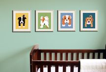 Nursery Ideas / Bulldog theme!  Lots of ways to keep it gender neutral, then again baby wont have its own room for a while so gender specific colors can be added later  / by Ashley Ramos