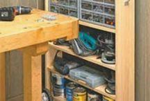 Garage Organizing / by charles wisner