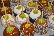 Caramel Apples / We make some of the best Caramel Apples out there. We use the finest chocolate and freshest ingredients.  / by Mrs. Cavanaugh's Chocolates & Ice Cream