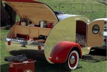 really .... I Love just about any kind of retro style trailer!! / Weekend fun anywhere you take it! / by Kate Hill
