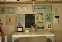 craft room inspiration / by Sherri Monteith