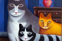 Art of the Cats / by Joke van Dijk