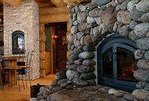 Log home / by Heather Gibbs Bonner