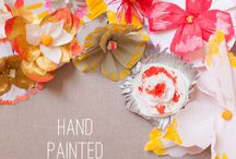 P #65 Spring Crafting / Some of my favorite crafting inspiration for spring! / by Kelsey/TheNaptimeChef