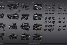 Weapons / Armas y armaduras de todo tipo, complementos para diseño de personajes. / by David Ruiz Rodrigo