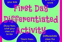 First Days of School  / by Theresa Marie