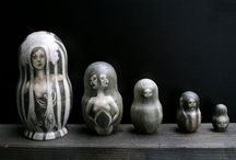 things - matryoshka / matryoshka, babushka, nesting doll... / by @pinkarmy