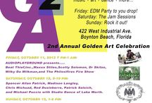 G2 GOLDEN Fest 2013 / The Biggest Outdoor Music and Art Festival in Boynton Beach / by Rolando Chang Barrero